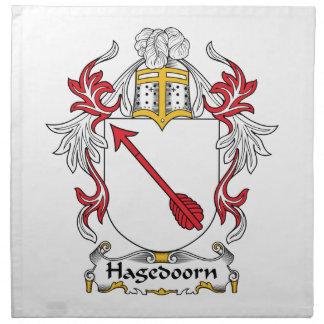 Hagedoorn Family Crest Napkin