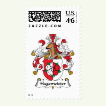 Hagemeister Family Crest Stamps