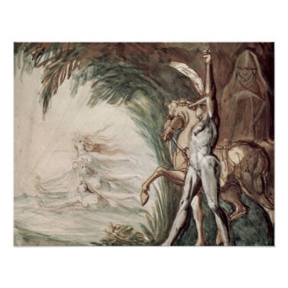 Hagen and the Undine by Henry Fuseli Poster
