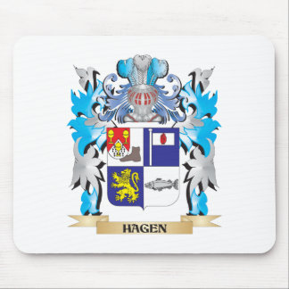Hagen Coat of Arms - Family Crest Mouse Pad