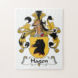 Hagen Family Crest Puzzle