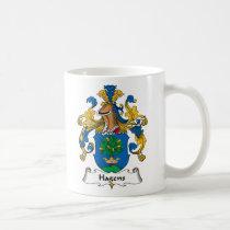 Hagens Family Crest Mug