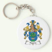 Hagens Family Crest Keychain