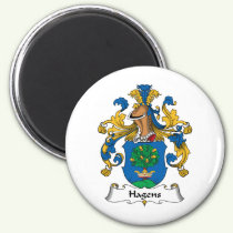 Hagens Family Crest Magnet