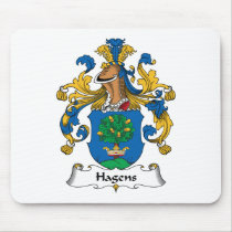 Hagens Family Crest Mousepad