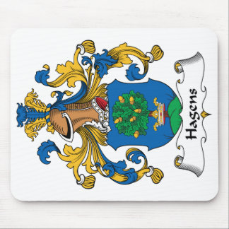 Hagens Family Crest Mouse Pad
