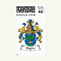 Hagens Family Crest Stamps