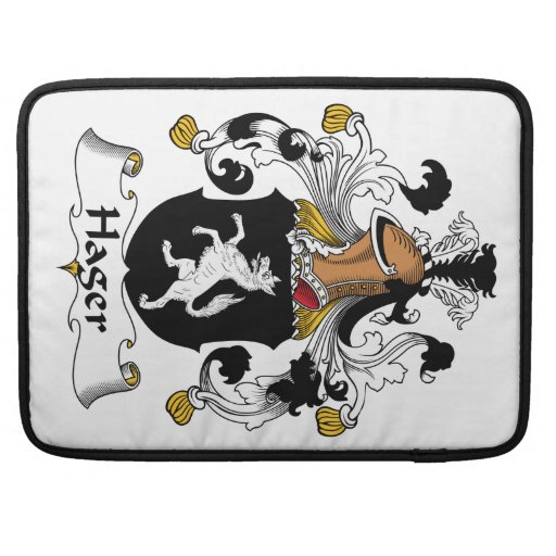 Hager Family Crest Sleeves For MacBook Pro