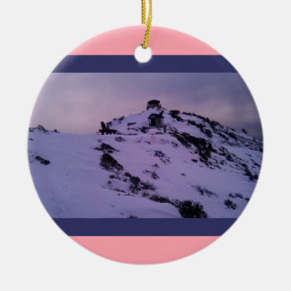 Hager Mountain Fire Lookout Ceramic Ornament