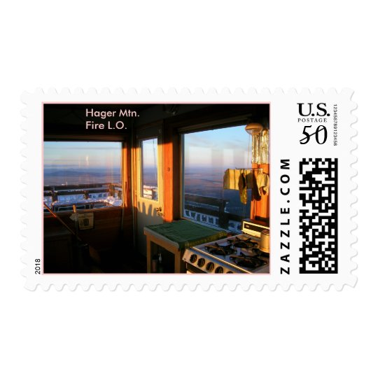Hager Mountain Fire Lookout Postage