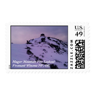 Hager Mountain Fire Lookout Silver Lake, OR Postage