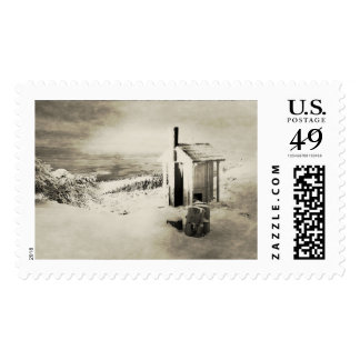 Hager Mountain Lookout Outhouse Postage