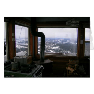 Hager Mtn FIre Lookout Card
