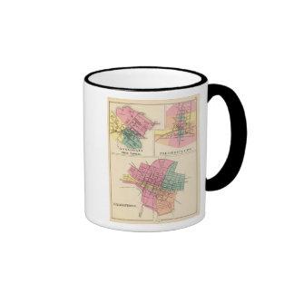 Hagerstown, Annapolis, Frederick City Ringer Mug