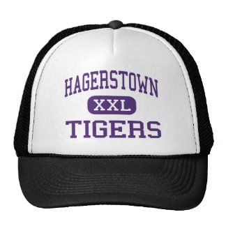 Hagerstown - Tigers - High - Hagerstown Indiana Mesh Hats