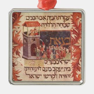 Haggada Metal Ornament