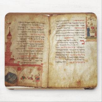 Haggadah para el Eve del Passover Tapetes De Raton