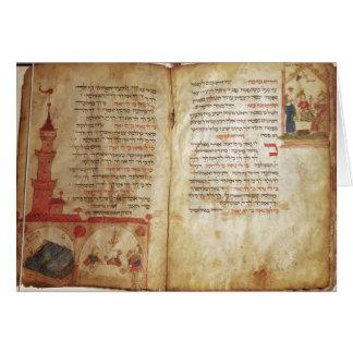 Haggadah para el Eve del Passover Tarjeta De Felicitación