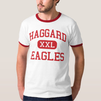 Haggard - Eagles - Middle School - Plano Texas T-Shirt
