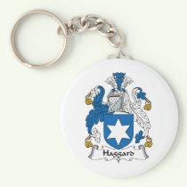 Haggard Family Crest Keychain