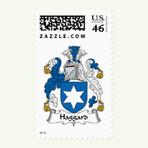Haggard Family Crest Stamps