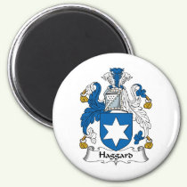 Haggard Family Crest Magnet