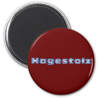 Haggard pride confirmed bachelor 2 inch round magnet