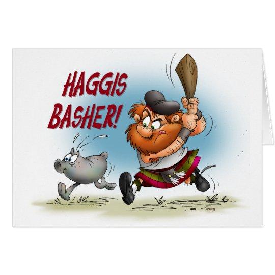Haggis Basher Card