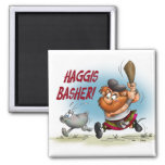 Haggis Basher Refrigerator Magnet