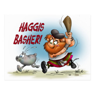 Haggis Basher Tarjetas Postales