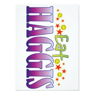 Haggis Eat 5.5x7.5 Paper Invitation Card