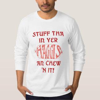 Haggis Funny Scottish Saying T-shirt