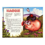 Haggis Recipe Postcard