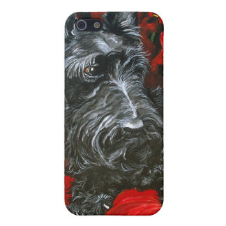 Haggis Terrier escocés iPhone 5 Carcasas