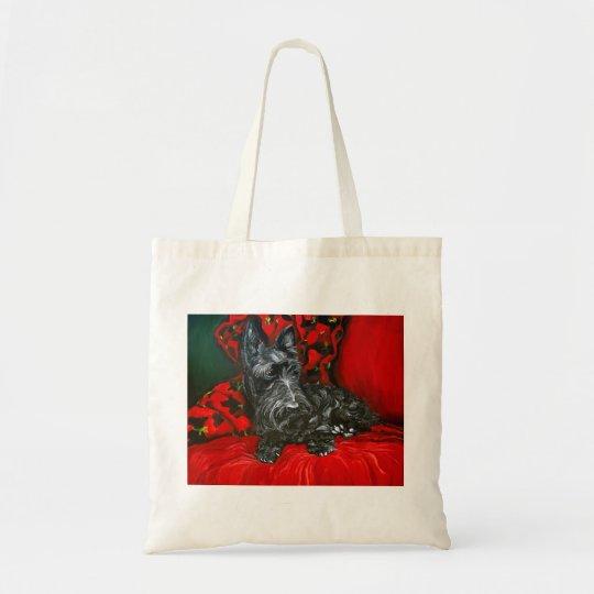 Haggis the Scottish Terrier Tote Bag