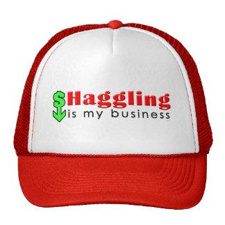 Haggling Is My Business Trucker Hat