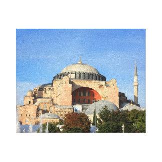 Haghia Sophia - (Aya Sofya) Gallery Wrapped Canvas
