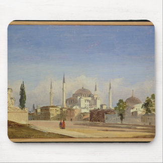 Haghia Sophia, Constantinople, 1843 (oil on canvas Mouse Pad