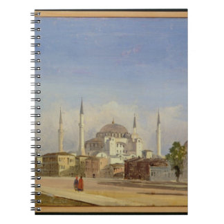 Haghia Sophia, Constantinople, 1843 (oil on canvas Notebook