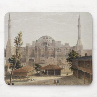 Haghia Sophia, Constantinople, pub. 1852 (colour l Mouse Pad