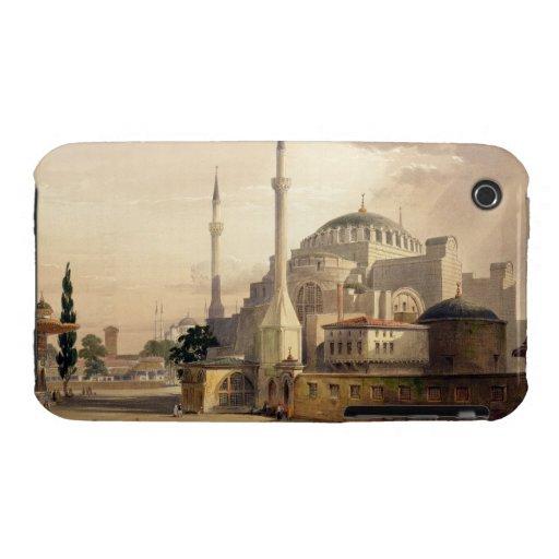 Haghia Sophia, placa 17: vista exterior del mosq Case-Mate iPhone 3 Protector