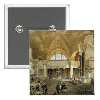 Haghia Sophia, placa 9: la nueva galería imperial, Pin Cuadrado