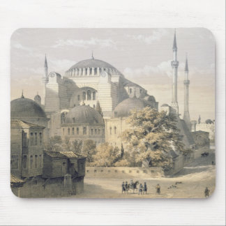 Haghia Sophia, plate 19: exterior view of the mosq Mouse Pad