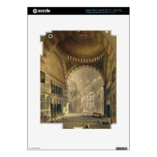 Haghia Sophia plate 24 interior of the central d iPad 3 Decals