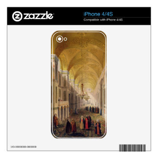 Haghia Sophia, plate 2: the narthex, engraved by L Decal For iPhone 4