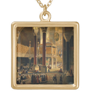 Haghia Sophia, plate 8: the Imperial Gallery and b Gold Plated Necklace