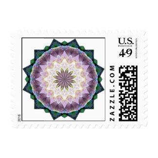 Hagi Mandala Square Stamp