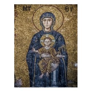 Hagia Sofia Mosaics Postcard