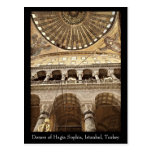 Hagia Sophia Dome Postcard