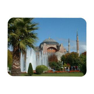 Hagia Sophia - Estambul Imán De Vinilo